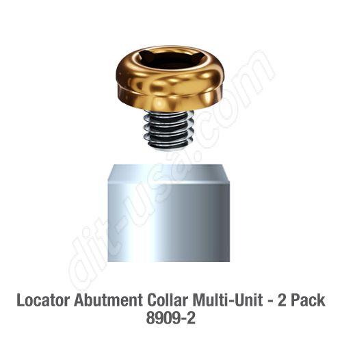 Locator Abutment Collar Multi-Unit 2 Pack