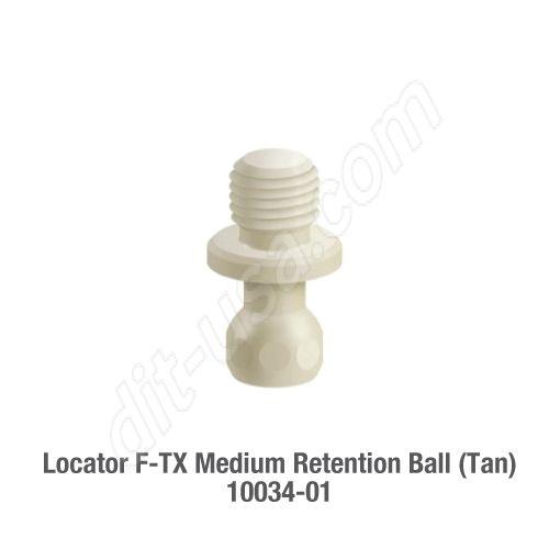 F-TX, MEDIUM RETENTION BALL (TAN) - 2 PACK