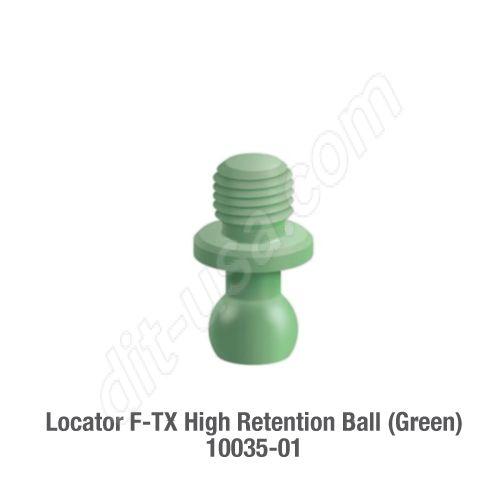 F-TX, HIGH RETENTION BALL (GREEN) - 2 PACK