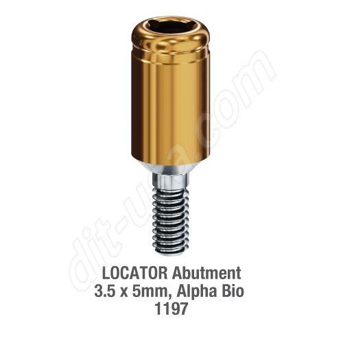Locator Abutment Alpha Bio 3.5 x 5.0mm #8625