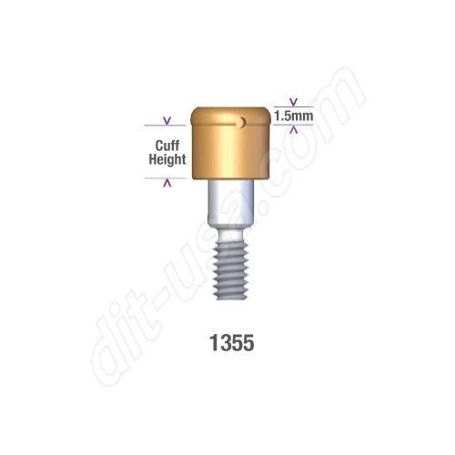 DSI DIO 3.8 SUBMERGED LOCATOR ABUTMENT x 5mm cuff #1355