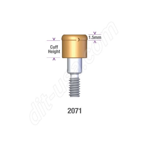 Nobel Conical Connection Locator NP 3.5mm x 3mm #2071