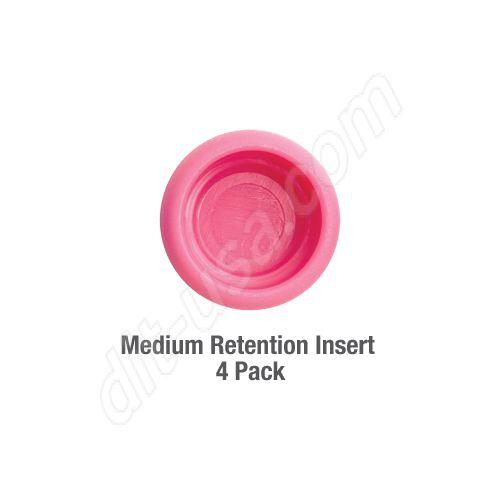 Medium Retention Insert (QTY. 4)