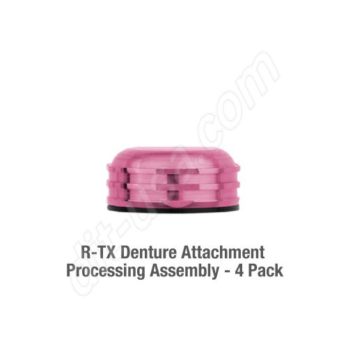 Denture Attachment Processing Assembly (QTY. 4)