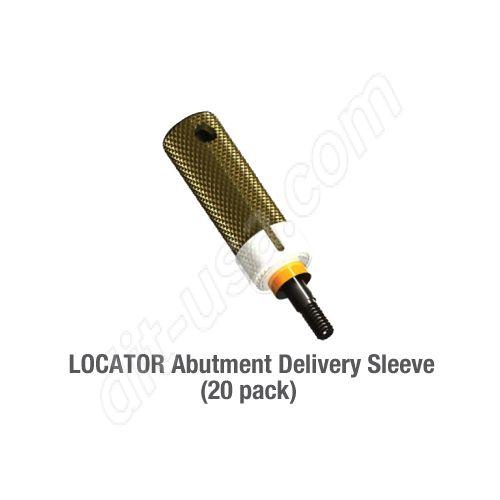 LOCATOR Abutment Holder Sleeve - (20 pack)