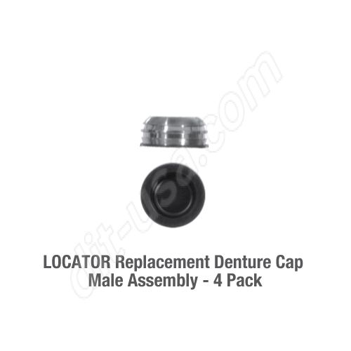 locator-replacement-Denture-Cap-Male-Assembly 4 pack