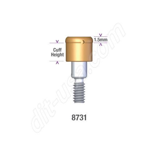 Locator LifeCore RESTORE AND COMPATIBLES 5.0mm x 5mm Implant Abutment #8731 (ea)