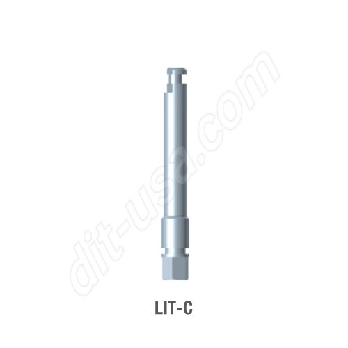 Long Contra Angle Insertion Tool for Standard Platform Internal Hex Connection