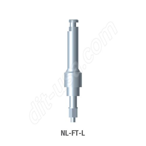 Long Contra Angle Insertion Tool for Narrow Platform Conical Connection