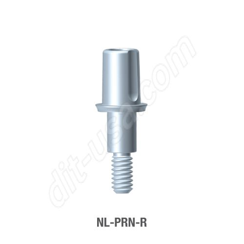Non-Engaging T-Base Abutment for Narrow Platform Conical Connection