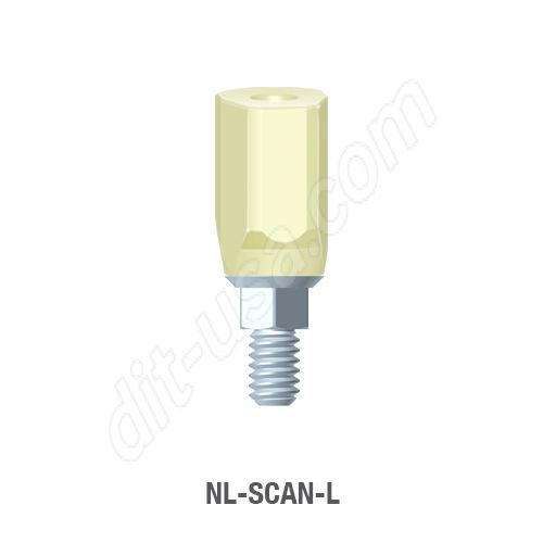 Long Scan Body for Narrow Platform Conical Connection