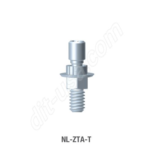 Engaging Screw Retained T-Base Abutment for Narrow Platform Conical Connection