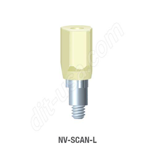 Long Scan Body for Narrow Platform Tri-Lobe Connection