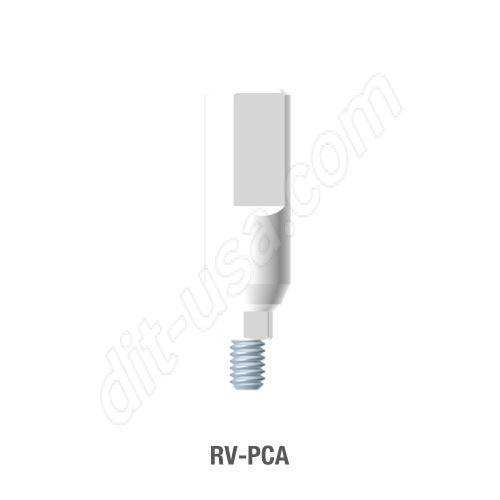 Engaging Plastic Castable UCLA Abutment for Standard Platform Tri-Lobe Connection.