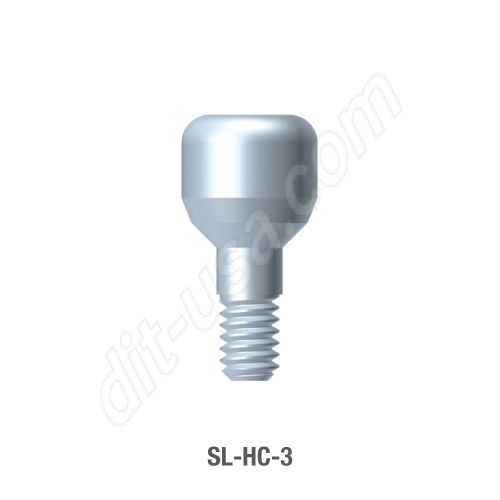 3mm Healing Abutment for Standard Platform Conical Connection
