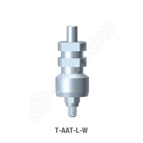 Wide Platform Open Tray Impression Transfer for Octa Abutment (T-AAT-L-W)