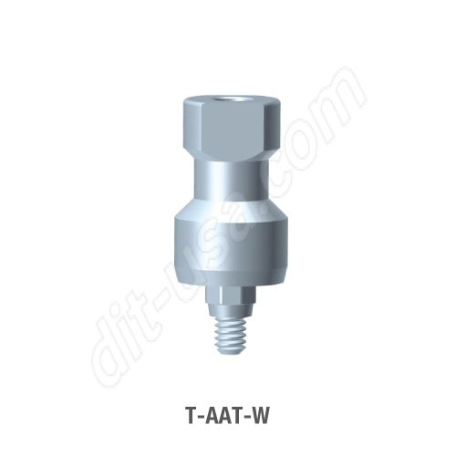 Wide Platform Closed Tray Impression Transfer for Octa Abutment (T-AAT-W)