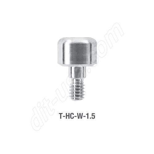 Wide Platform Healing Cap for Tite Fit Implants 1.5mm (T-HC-W-1.5)