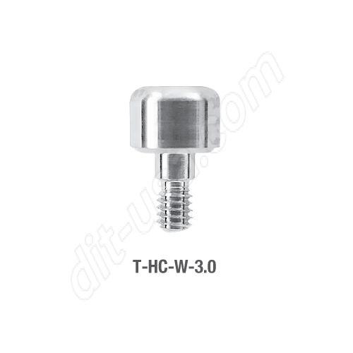 Wide Platform Healing Cap for Tite Fit Implants 3.0mm (T-HC-W-3.0)