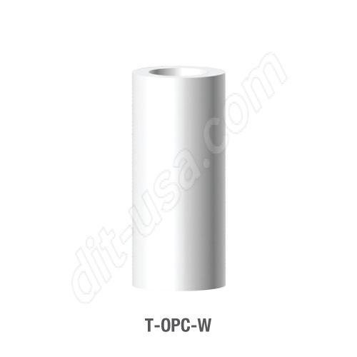 Wide Platform Castable Plastic Cylinder for T-CBA (T-OPC-W)