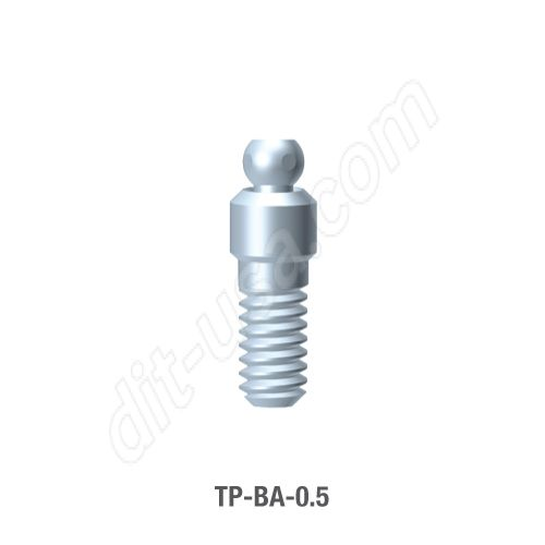 0.5mm Cuff Ball Attachment for TRX-TP Implants