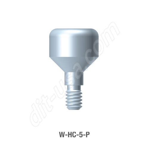 5mm Anatomical Healing Abutment for Wide Platform Internal Hex Connection