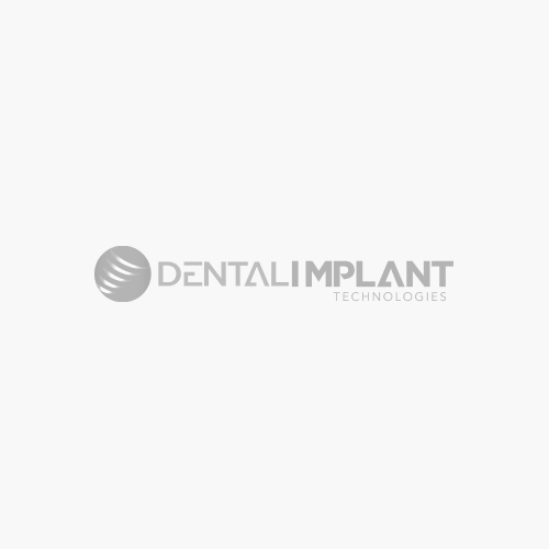 Straight Zirconia Abutment for Wide Platform Internal Hex Connection