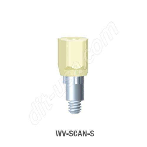 Short Scan Body for Wide Platform Tri-Lobe Connection