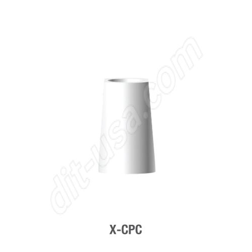 Conical Plastic Cylinder for Screw Retained Work