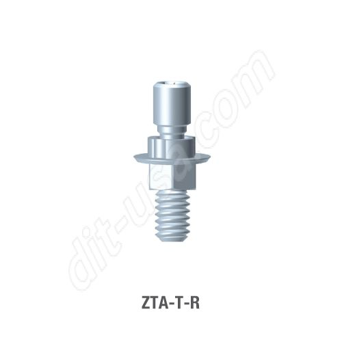 Non-Engaging Screw Retained T-Base Abutment for Standard Platform Internal Hex Connection