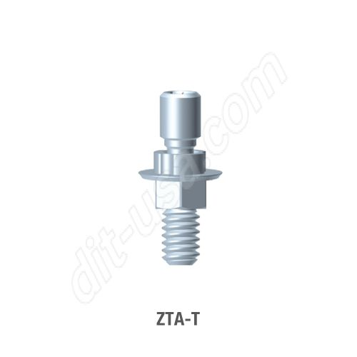 Engaging Screw Retained T-Base Abutment for Standard Platform Internal Hex Connection