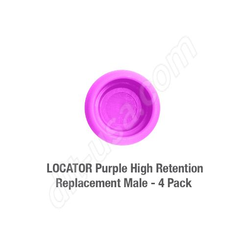 8.0 lbs LOCATOR Purple High Retention Replacement Male - (4 pack)