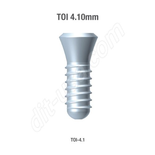 TITE FIT 4.1MM IMPLANTS INTERNAL OCTAGON AND MORSE TAPER(ASSORTED LENGTHS)