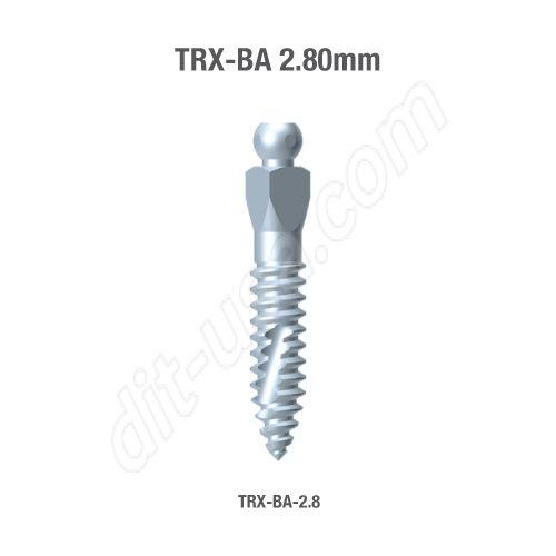 TRX-BA 2.8mm Implants (Assorted Lengths)