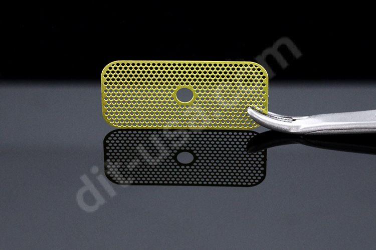12x25mm Cytoflex® Titanium Mesh, with Hole