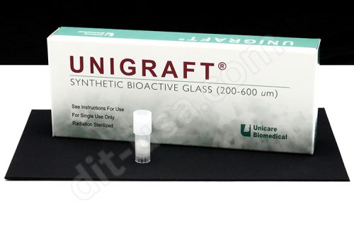 0.5g (200-400µm) Unigraft® Synthetic Bioactive Glass -5/Pack