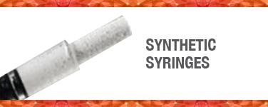 Synthetic Particulate Syringes