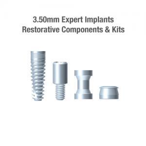 3.5mm Diameter Expert Implants, Restorative Components & Kits