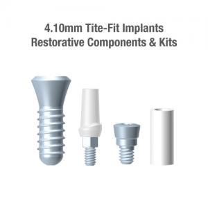 4.1mm Tite-Fit Implants, Restorative Components & Kits