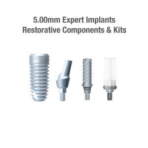 5.0mm Diameter Expert Implants, Restorative Components & Kits