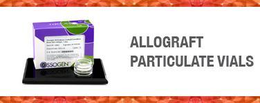 Allograft Particulate Vials