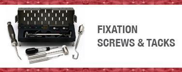 Fixation Screws & Tacks