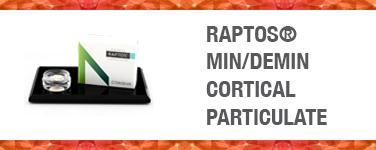 Raptos Min/Demin Cortical Particulate
