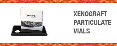 Xenograft Particulate Vials
